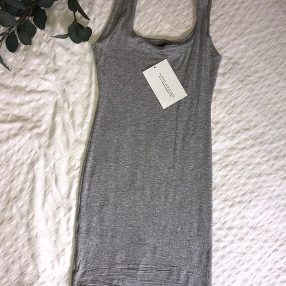 Bodycon gray dress
